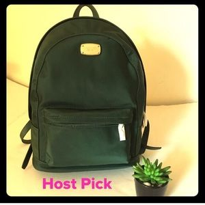 HP⭐️NEW Michael Kors Green Jet Set Large backpack